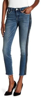 Blank NYC BLANKNYC Side Stripe Raw Hem Skinny Jeans