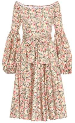 Caroline Constas Gisele cotton-blend dress