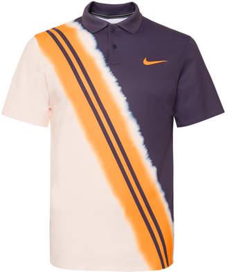 Nike Tennis - Nikecourt Advantage Dri-fit Tennis Polo Shirt - Navy