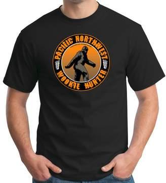 Hunter Big Cat Sticker Shack Men's Tshirt - Pacific Northwest Wookie