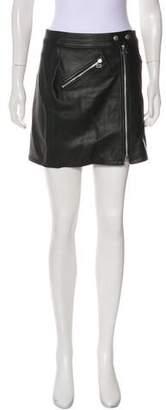 Rag & Bone Patent Leather Mini Skirt
