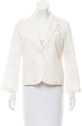 CNC Costume National Notch-Lapel Lightweight Blazer