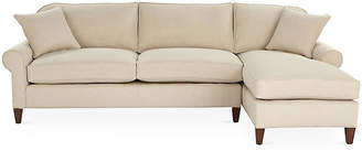 Abby Right-Facing Sleeper Sectional - Natural - Miles Talbott