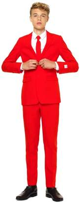 OppoSuits Oppo Red Devil Two-Piece Suit with Tie