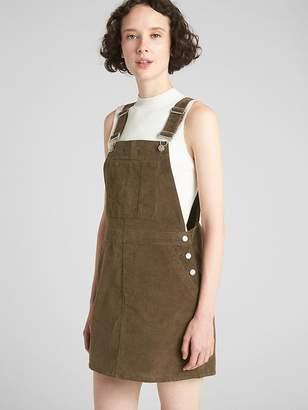 Gap Cord Overall Dress