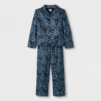 Marvel Boys' Black Panther 2pc Pajama Set - Black