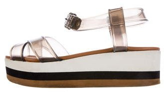 Fendi Fendi Jelly Wedge Sandals