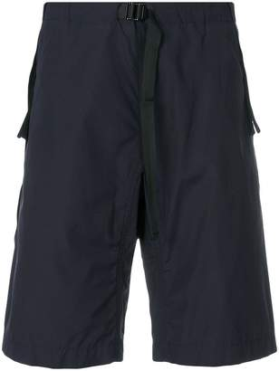 Stella McCartney adjustable belted waist shorts