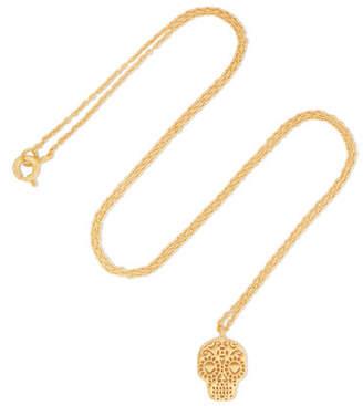 DAY Birger et Mikkelsen I+I II Of The Dead Gold-plated Necklace