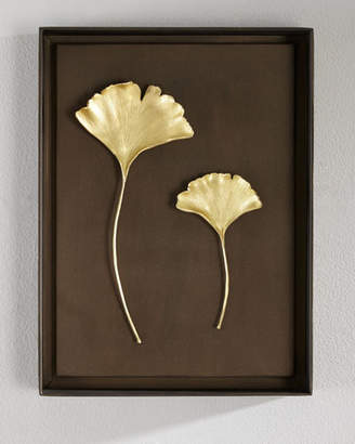 Michael Aram Gingko Leaf Wall Art