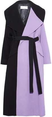 Marques Almeida Marques' Almeida Belted Wool-Blend Coat