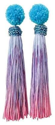 """Ricardo Rodriguez Design Pom Pom & Tassel """"Funfair Earrings"""""""