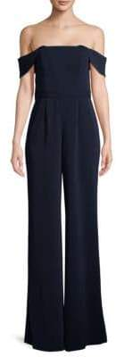Jay Godfrey Brin Off-The-Shoulder Jumpsuit
