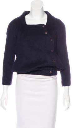 Osman Wool Button-Up Jacket