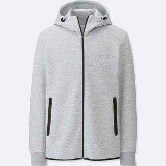 Uniqlo Men's Dry Stretch Sweat Full-zip Hoodie