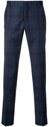 Entre Amis checked skinny trousers