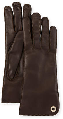 Loro Piana Jacqueli Leather Gloves