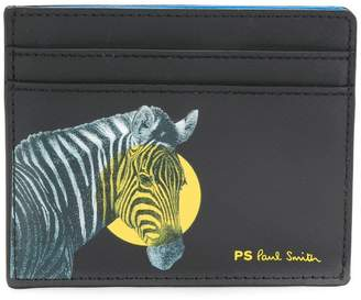 Paul Smith zebra print cardholder