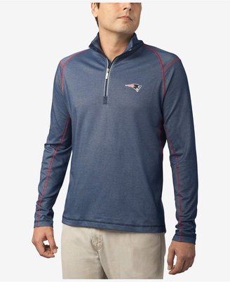 Tommy Bahama Men's New England Patriots Double Eagle Half-Zip Sweater $118 thestylecure.com