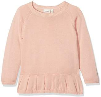 Name It Girl's Nitetdanani Ls Knit F Mini Long Sleeve Top