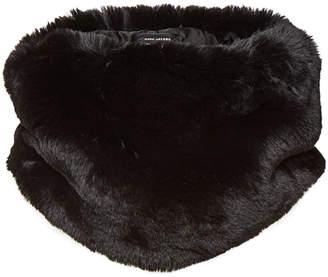 Marc Jacobs Plush Faux Fur Collar
