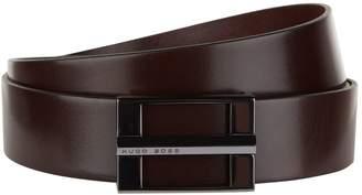 HUGO BOSS Leather Buckle Belt