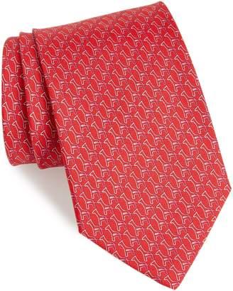 Salvatore Ferragamo Fiona Print Silk Tie