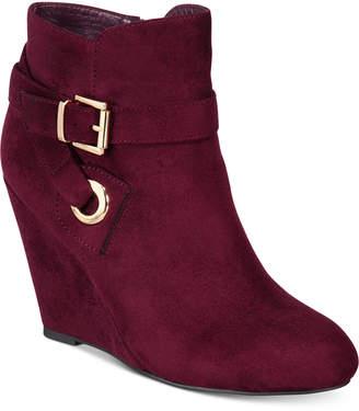 Ziginy Zigi Soho Keylie Wedge Booties Women Shoes