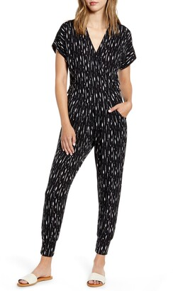 Loveappella Wrap Jumpsuit