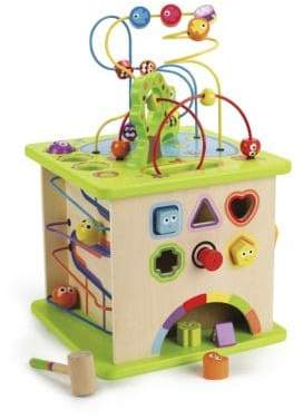 Hape Toys Country Critters Play Cube