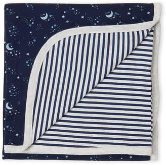 Just Born Newborn/Infant Boys) 2-Ply Swaddle Blanket