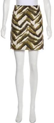 Longchamp Mini Leather Skirt