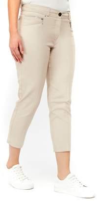 Wallis Stone Stretch Crop Trousers