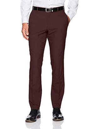 Perry Ellis Men's folio Very Slim Solid Tech Pant