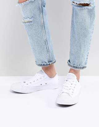 Converse (コンバース) - Converse Chuck Taylor Ox Sneakers In Triple White