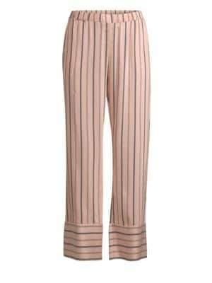 Hanro Maile Striped Pajama Pants