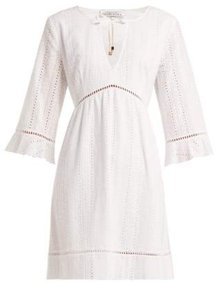 Heidi Klein Palermo Broderie Anglaise Cotton Dress - Womens - White