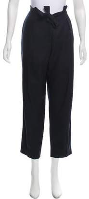 Roberta Furlanetto Wool High-Rise Pants w/ Tags