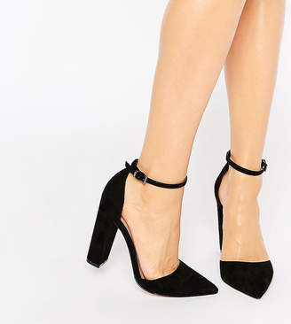 Asos DESIGN PENALTY Pointed High Heels