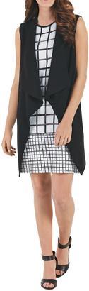 Mud Pie Dress Length Black Vest $54.95 thestylecure.com