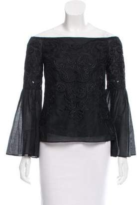 Intermix Aaron Off-The-Shoulder Top w/ Tags