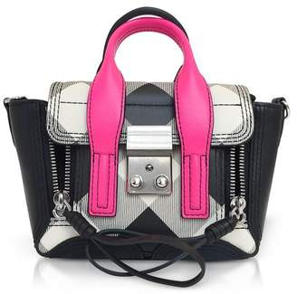 3.1 Phillip Lim Pashli Gingham Nano Satchel Bag