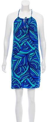 Alice & Trixie Printed Silk Dress