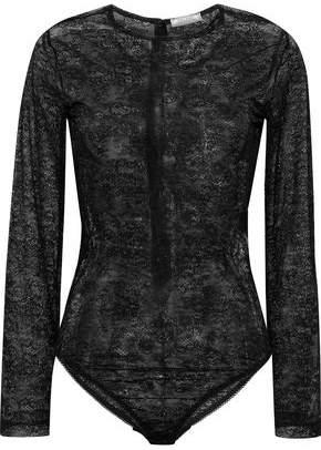 Nina Ricci Chantilly Lace Bodysuit