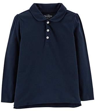 Osh Kosh OshKosh Girls' Kids Long Sleeve Polo Shirt,7