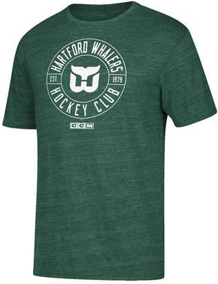 Hartford Ccm Men's Whalers Wheelhouse T-Shirt