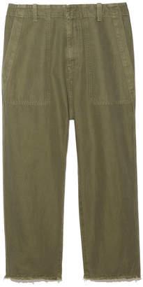 Nili Lotan Luna Linen-Twill Pants