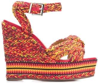 Schutz braided wedges