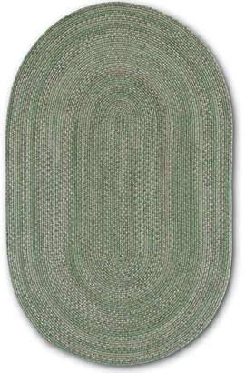 Colonial Mills Greenbrier Reversible Braided Wool Oval Rug