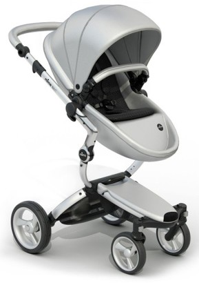 Infant Mima Xari Aluminum Frame Stroller With Reversible Reclining Seat & Carrycot $1,424 thestylecure.com